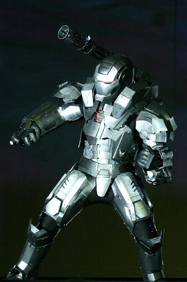 Fan dressed as a War Machine during Comic-Con Masquerade Party on day 3 of the 2010 Comic-Con International Convention on July 24, 2010 at the San Diego Convention Center in San Diego, California.
