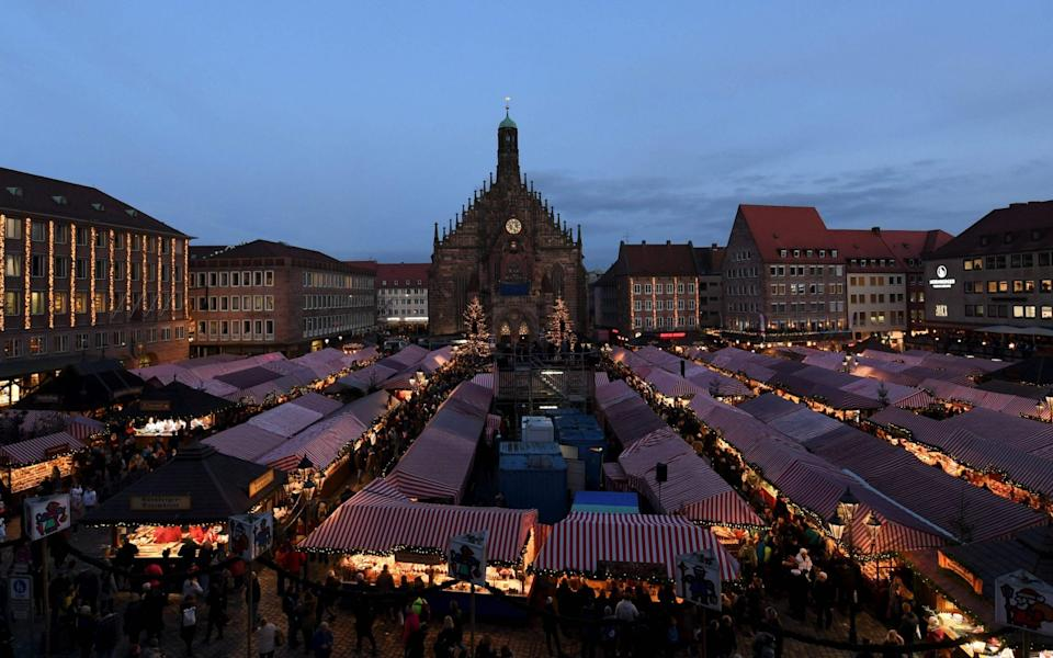 Other Christmas markets around Europe have also been cancelled, including Edinburgh's -  AFP