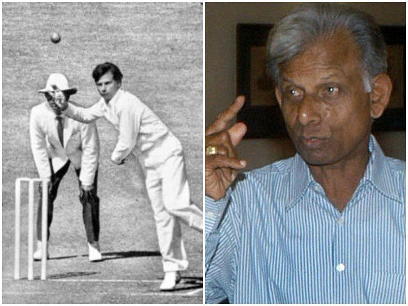 Padmakar Shivalkar is famous for his Ranji spell where he picked up 13 wickets for 34 runs against Tamil Nadu