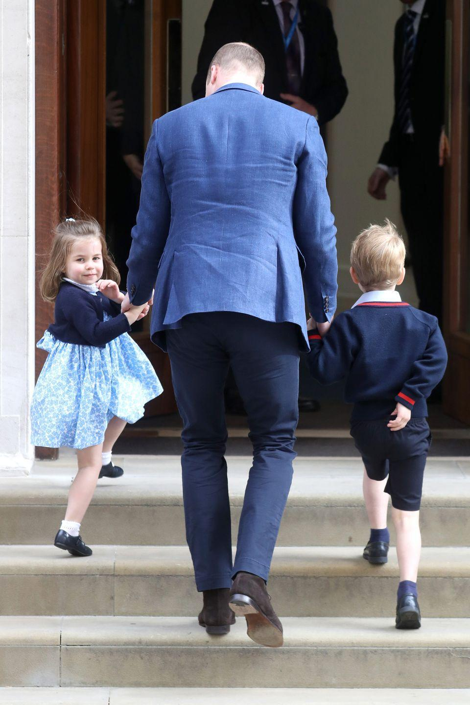 <p>Princess Charlotte steals the show as she waves to onlookers, proving that she's already mastered her royal cues. </p>