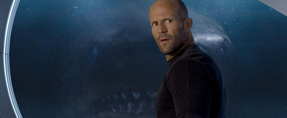 Jason Statham in 'The Meg'. (Credit: Warner Bros)