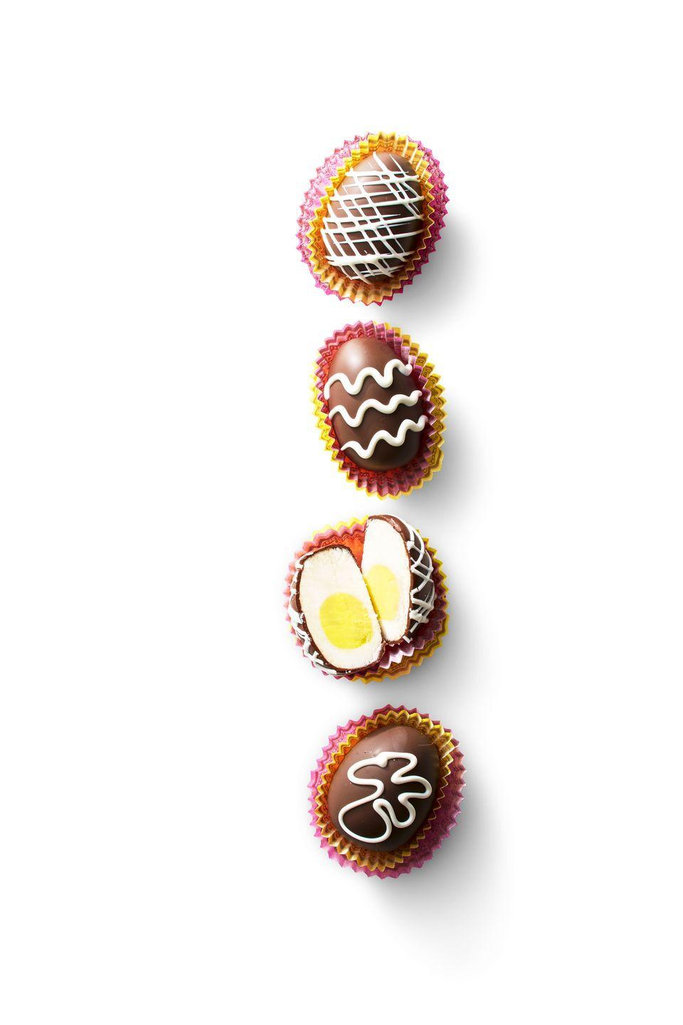 "<p>Have you ever tried making this Easter-favorite treat at home? It's easier than you think!</p><p><em><a href=""https://www.goodhousekeeping.com/food-recipes/a35396870/diy-creme-eggs-recipe/"" rel=""nofollow noopener"" target=""_blank"" data-ylk=""slk:Get the recipe for DIY Creme Eggs »"" class=""link rapid-noclick-resp"">Get the recipe for DIY Creme Eggs »</a></em></p>"