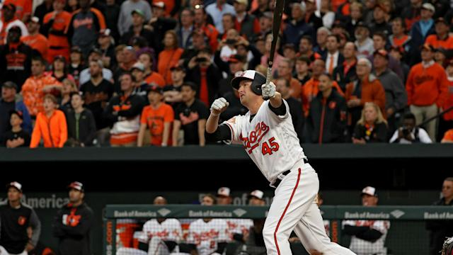 The Baltimore Orioles smashed four home runs to beat the Boston Red Sox in MLB.