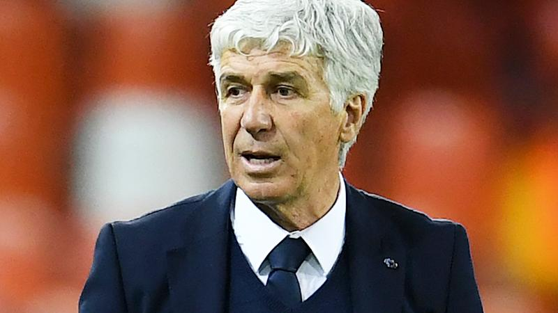 Gian Piero Gasperini, pictured here during the UEFA Champions League round of 16 clash between Valencia and Atalanta.