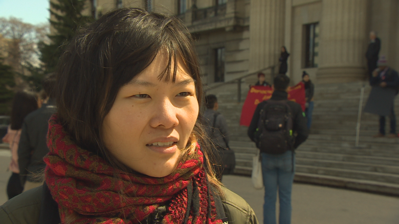 University students protest plans to remove tuition cap, tax-rebate cuts