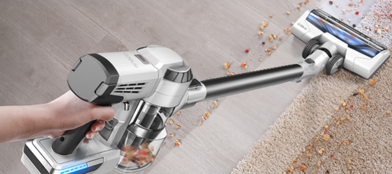 Whether you're cleaning hardwood or carpet, the results are super-satisfying. (Photo: Amazon)