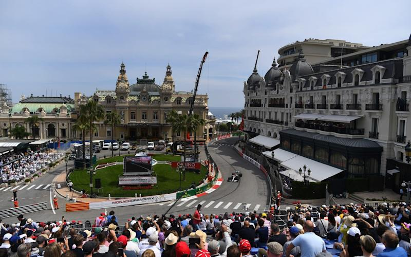 Fans take in qualifying in Monaco on Saturday - Getty Images Europe