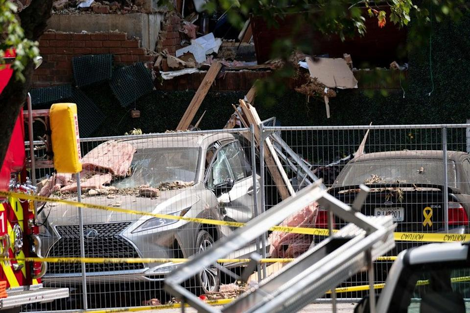 Apartment Explosion (Copyright 2020 The Associated Press. All rights reserved)