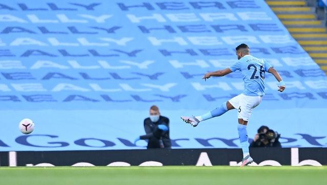 City were unable to build on the early lead they claimed through a Riyad Mahrez strike