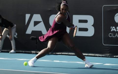<span>Serena Williams looked back to her best in the semi-final</span> <span>Credit: Getty Images </span>