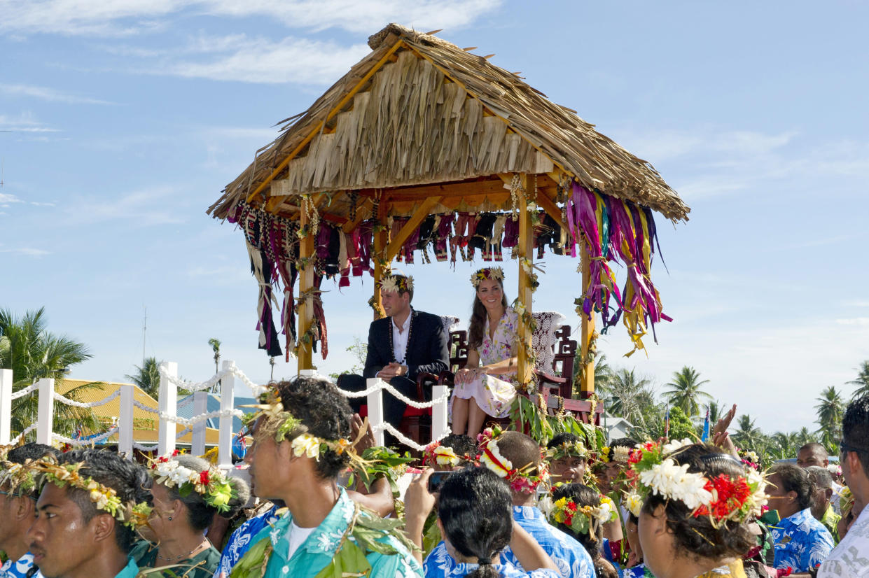 Royal tour of the Far East and South Pacific