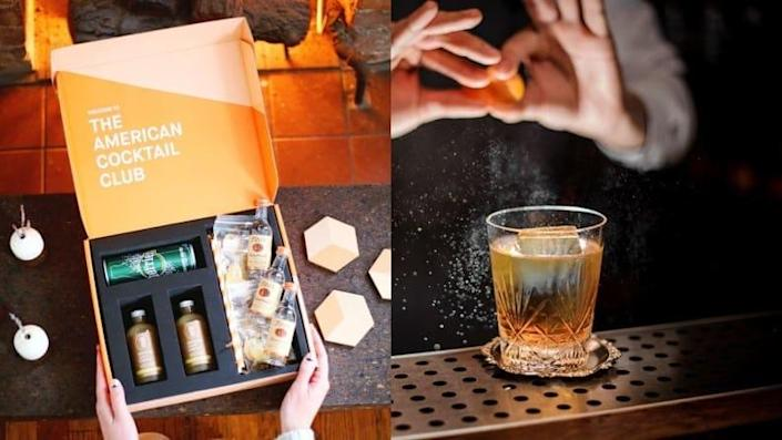 This cocktail subscription lets you make your own drink right away.
