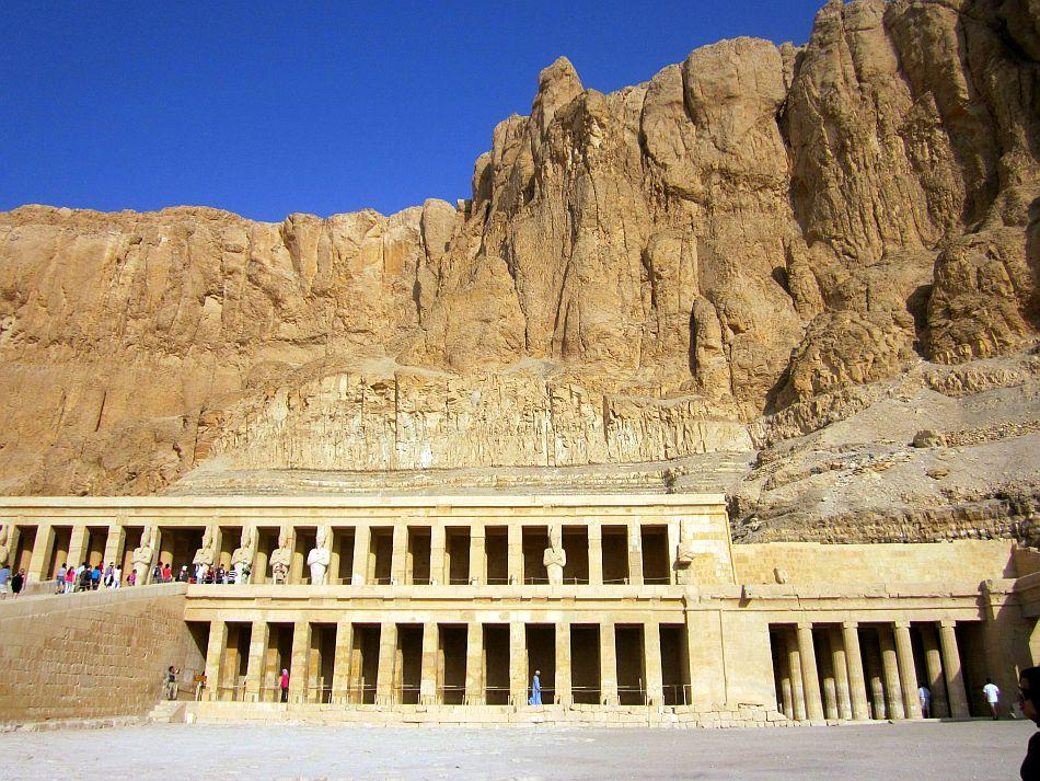 Queen Hatshepshut's Temple in the Valley of the Kings