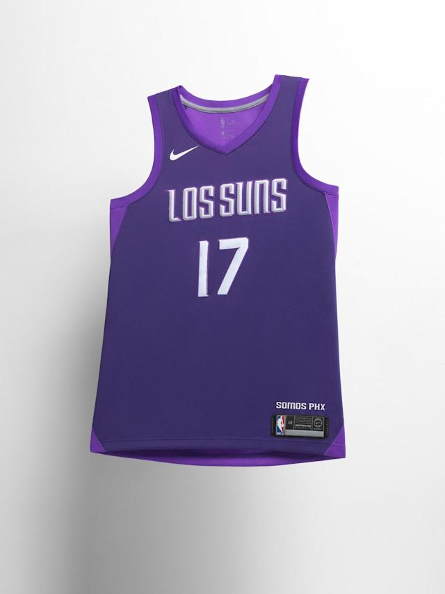 Phoenix Suns City uniform. (Nike)