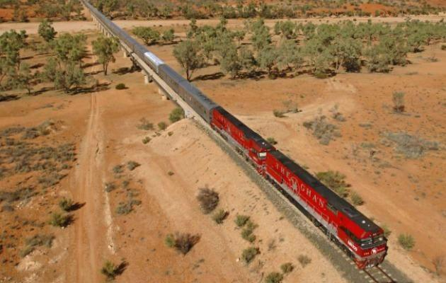 Without a doubt the most luxurious way to travel through the Outback, The Ghan should be on every Australian's bucket list.