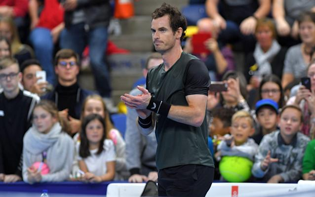 Andy Murray has progressed faster than he expected - AFP