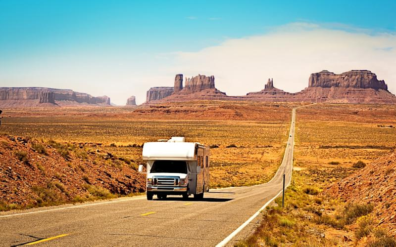 Campervans allow holidaymakers to cover plenty of ground - istock