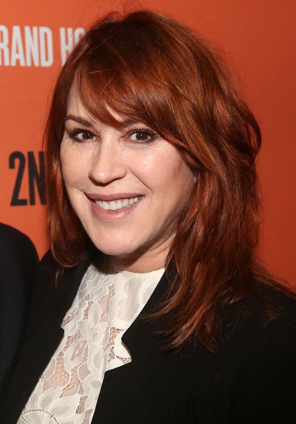 <p>Ringwald moved to France in the mid-1990s before returning back to the U.S. every now and then for a few roles. She also experienced some success in theater, headlining as Sally Bowles in Broadway's revival of <em>Cabaret </em>in December 2001. Ringwald also released a jazz album in 2013, following in her father's footsteps as a jazz musician. Today, she has a recurring role on the CW series <em>Riverdale.</em><br></p>