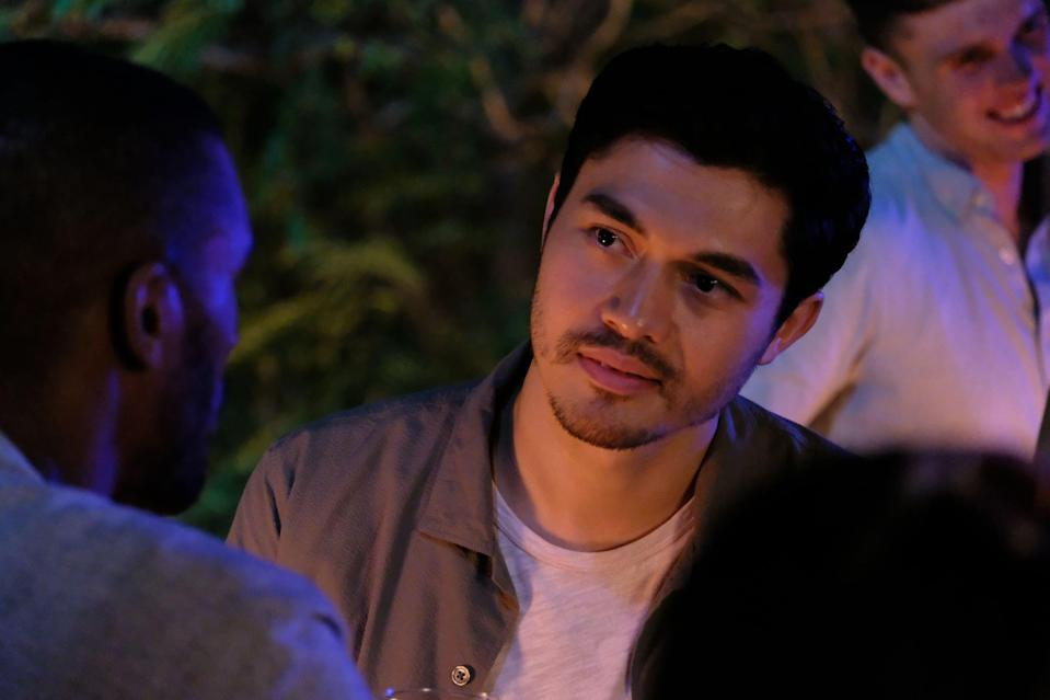 """<p>Henry Golding stars in this romance as Kit, a British Vietnamese man who returns to his birth country for the first time in over 30 years and finds himself falling for Lewis, an American man in Saigon whose father fought in the Vietnam War.</p> <p><br></p> <p><a href=""""https://www.netflix.com/title/81315965"""" class=""""link rapid-noclick-resp"""" rel=""""nofollow noopener"""" target=""""_blank"""" data-ylk=""""slk:Watch Monsoon on Netflix"""">Watch <strong>Monsoon</strong> on Netflix</a>.</p>"""