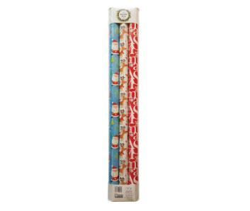 Christmas Wrapping Paper Rolls (70cmx3m) 3 pack, $4 from Woolworths.