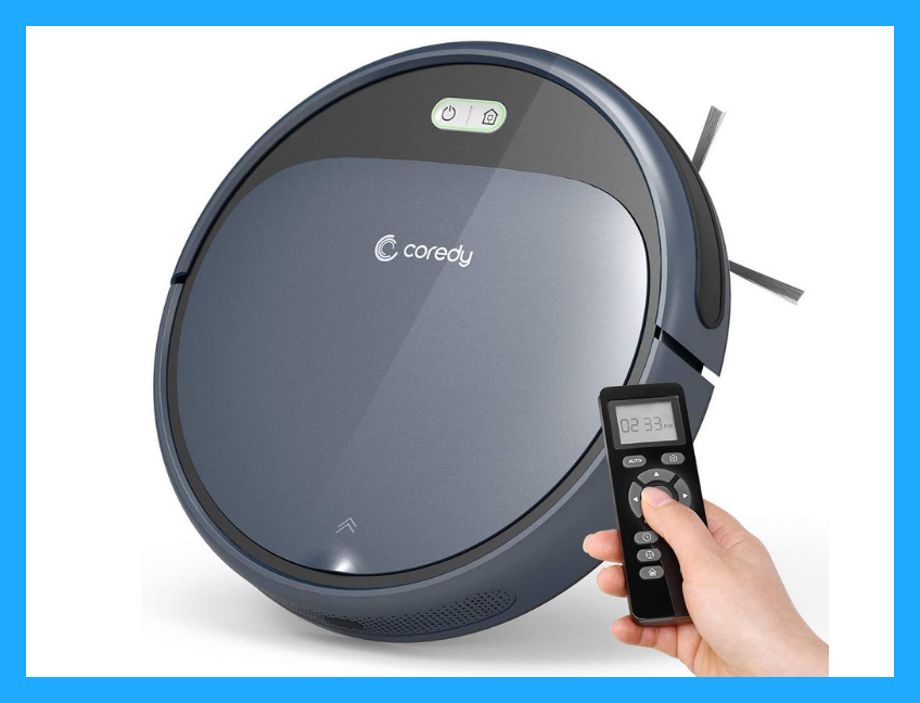 Save $20 for Prime members only—Coredy Robot Vacuum Cleaner. (Photo: Amazon)