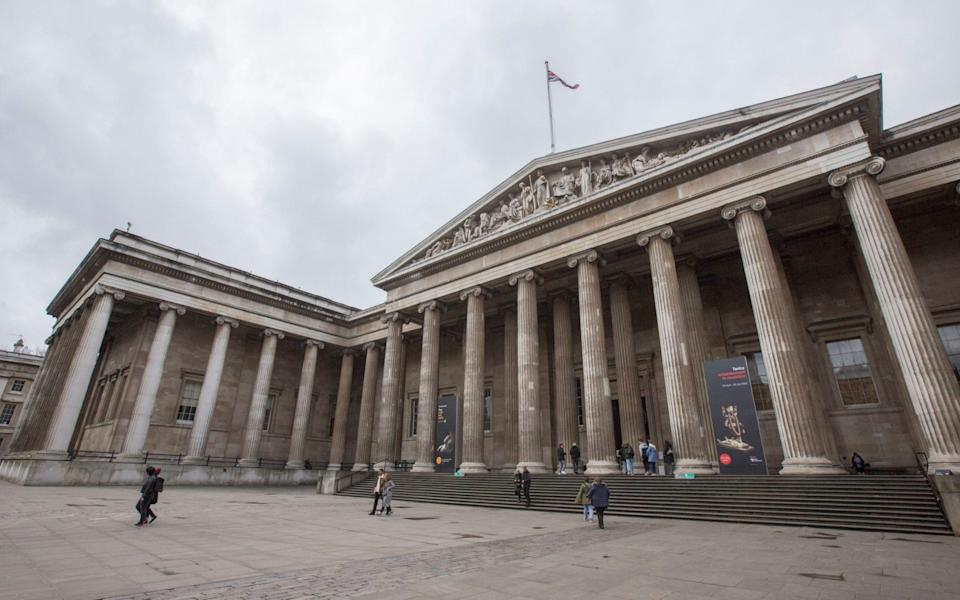The British Museum, pictured just before the first lockdown - Rick Findler