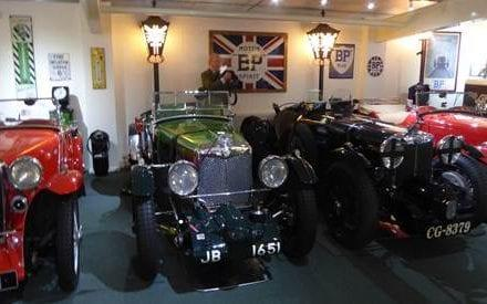 Lewis Collection of classic cars