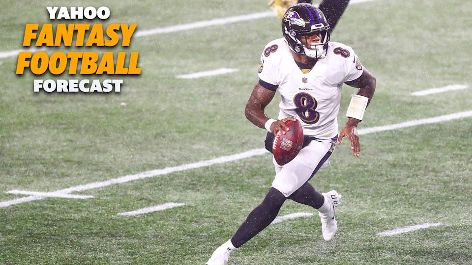 Lamar Jackson and the Baltimore Ravens hope to get the offense back on track.