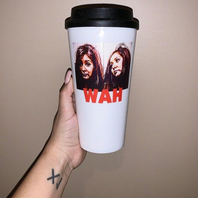 This hilarious tumbler is certainly a conversation starter. (Photo: Etsy)