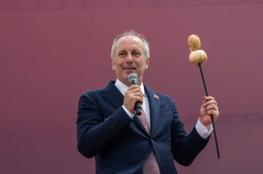 Muharrem Ince, presidential candidate for Turkey's main opposition Republican People's Party, claimed five million people attended his finally rally in Istanbul ahead of Sunday's eelctions Turkey will go to the polls in parliamentary and presidential elections on June 24