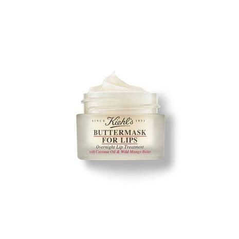 """If you're anything like me, your lips show the first signs of dehydration, be it too many cocktails and not enough water, aggressive heating and air-con or dry, summer heat. This overnight mask from Kiehl's is a godsend, using coconut oil and mango butter to sink deep into the lips' natural moisture barrier. Best applied before bed for plumper, softer lips, although it can also be used throughout the day for a quick fix. <br><br><strong>Kiehl's</strong> Buttermask For Lips, $, available at <a href=""""https://www.kiehls.co.uk/skin-care/category/lips/buttermask-for-lips/WW0059KIE.html"""" rel=""""nofollow noopener"""" target=""""_blank"""" data-ylk=""""slk:Kiehl's"""" class=""""link rapid-noclick-resp"""">Kiehl's</a>"""