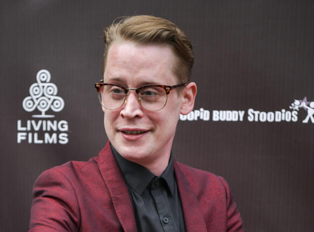 "Macaulay Culkin attends the LA Premiere of Gravitas Ventures' ""Changeland"" at ArcLight Hollywood on June 03, 2019 in Hollywood, California. (Photo by Rodin Eckenroth/Getty Images)"