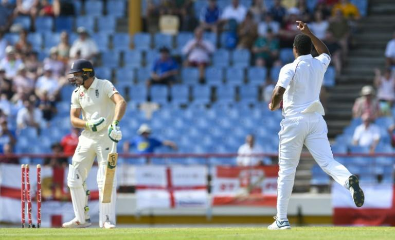 West Indies beat England 2-1 in a three-match Test series in the Caribbean at the start of 2019