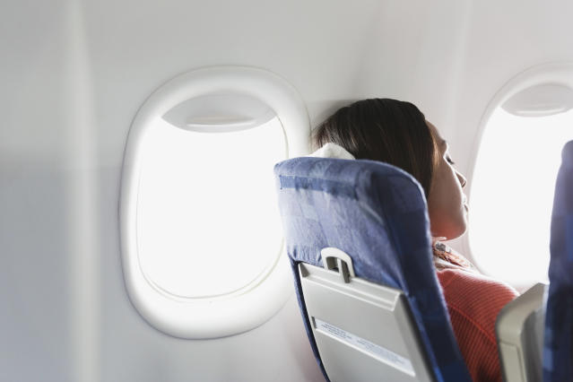 """A woman says she received """"hush money"""" from United Airlines after she reported an inappropriate seatmate. (Photo: Getty Images)"""