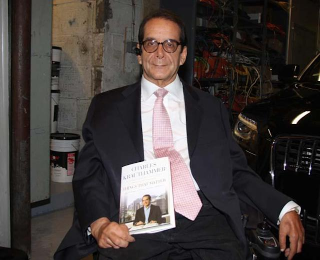 Charles Krauthammer in 2013. (Photo: William Regan/Globe Photos/ZUMAPRESS.com)