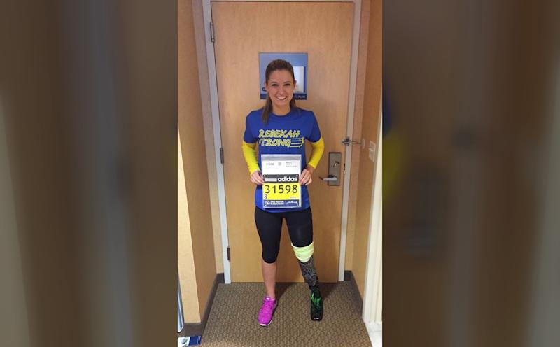 I Lost My Leg in the Boston Marathon Bombing-and Then Trained to Run the Race