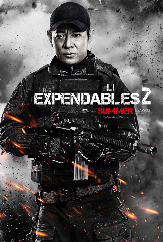 """Jet Li in Lionsgate's """"The Expendables 2"""" - 2012"""