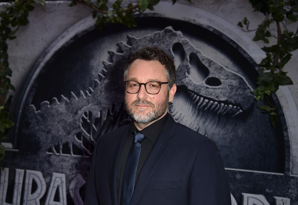 """HOLLYWOOD, CA - JUNE 09:  Writer/Director Colin Trevorrow attends the Universal Pictures' """"Jurassic World"""" premiere at the Dolby Theatre on June 9, 2015 in Hollywood, California.  (Photo by Kevin Winter/Getty Images)"""