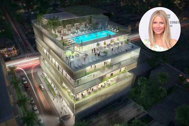 Gwyneth Paltrow is helping to bring the famed London hot spot to L.A. (Photo:Courtesy of the Arts Club/Getty Images)