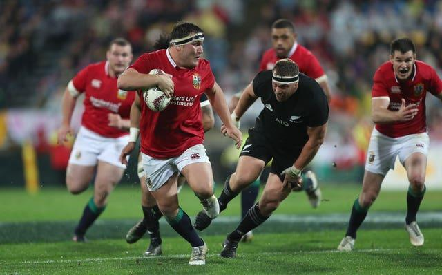 Jamie George was the Lions' Test hooker in New Zealand