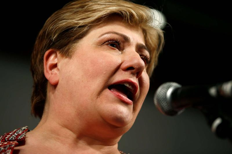 Emily Thornberry has accused Boris Johnson of a failure of responsiblity (REUTERS)
