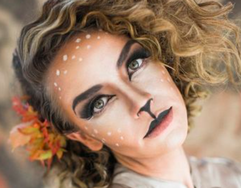 These ~makeup only~ Halloween costumes are seriously gorgeous