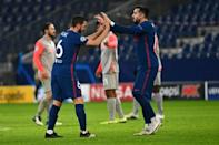 Joy for Atletico Madrid after they beat Salzburg to make the last 16