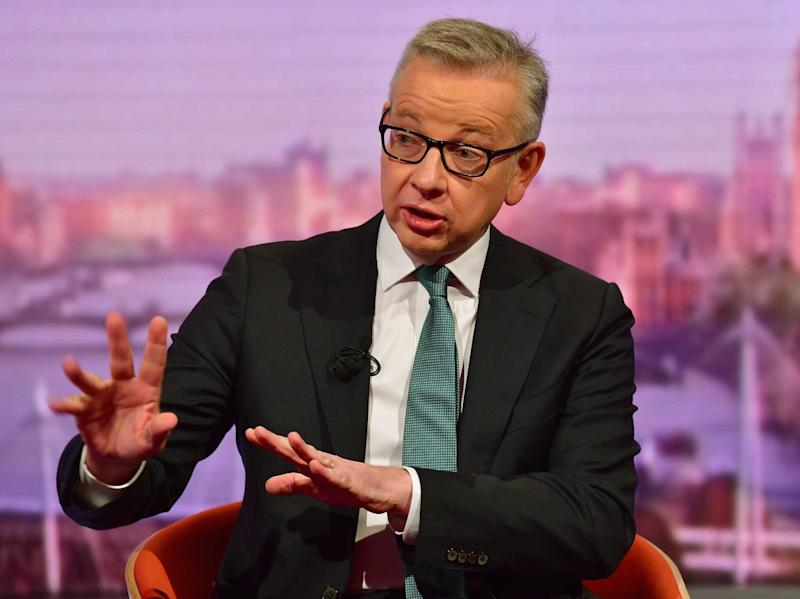 Cabinet minister Michael Gove suggested the government may not abide by legislation designed to stop a no-deal Brexit (Picture: PA)