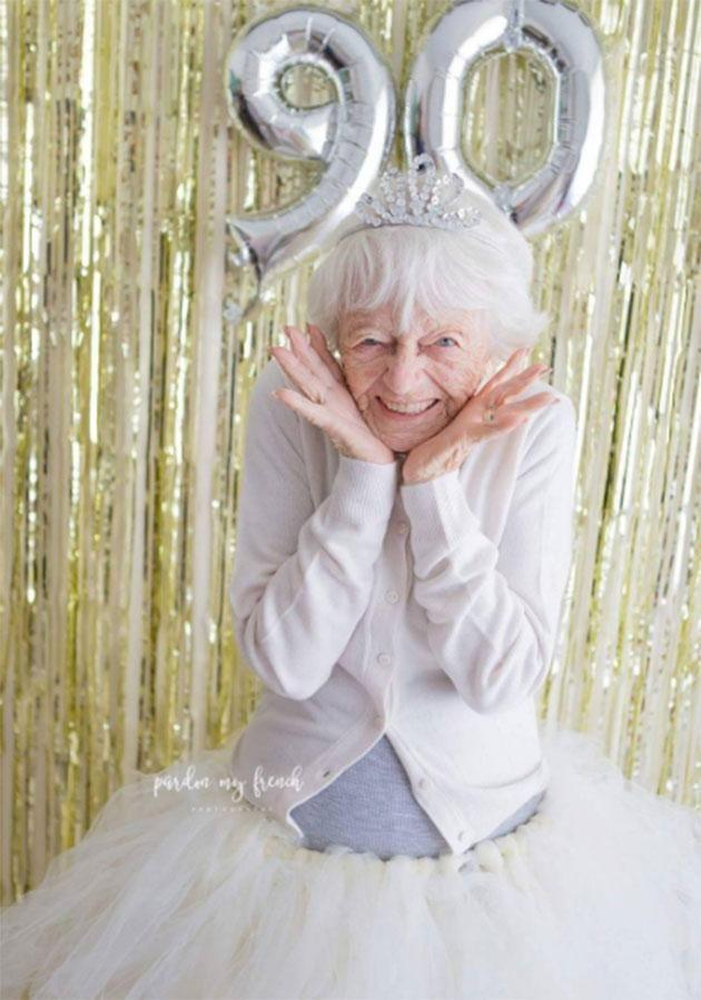 This grandma is birthday goals. Source: Pardon My French Photography/Instagram