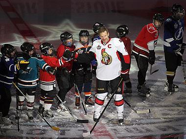 Daniel Alfredsson has embraced Ottawa and plans to live there after he retires, and all-star weekend was a chance for Senators fans to show their appreciation