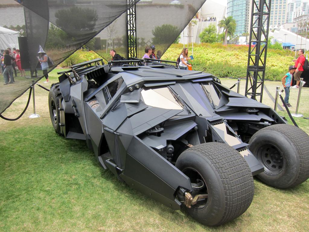 "The ""Tumbler"" Batmobile from 'The Dark Knight' - San Diego Comic-Con 2012"