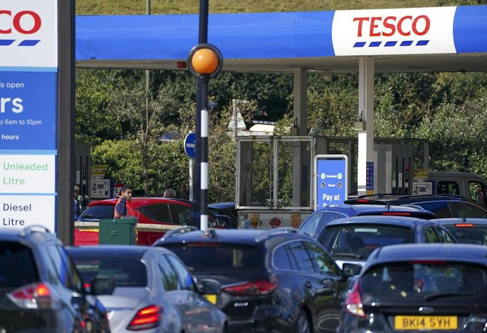 Tesco is set to reveal interim results on Wednesday (Steve Parsons / PA) (PA Wire)