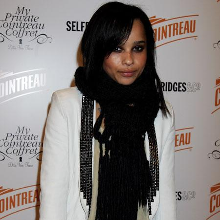 Zoë Kravitz 'happily dating Fassbender'