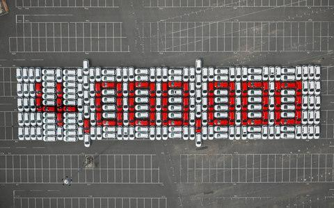 4000000 logo to represent the number of Astras built at Ellesmere Port - Credit: PA